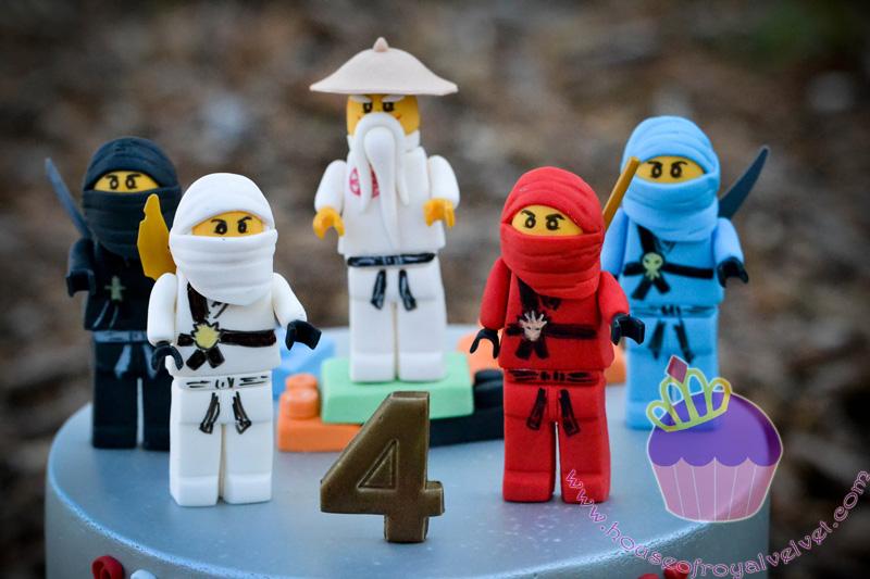 Как из пластилина сделать лего ниндзя го из